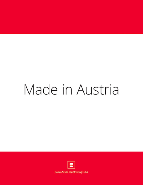 Katalog Walter Kratner  Made in Austria