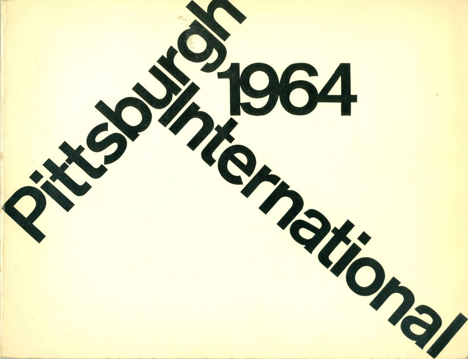 Katalog Stefan Gierowski  Pittsburgh International 1964