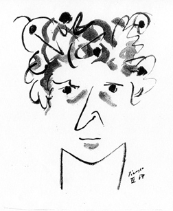 Portret Witolda-K - Pablo Picasso